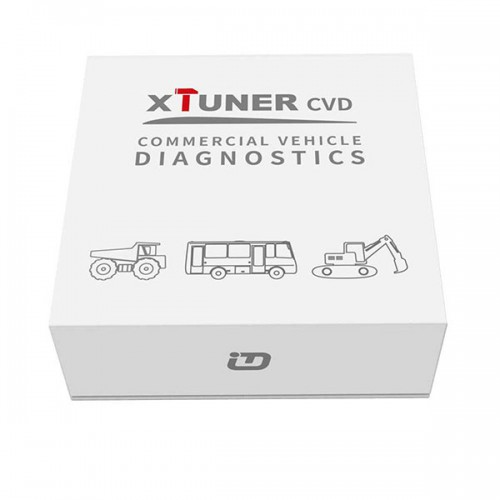Original XTUNER CVD-9 CVD Commercial Vehicle Diagnostic Adapter XTUNER Heavy Duty Scanner Support Bluetooth on Android System