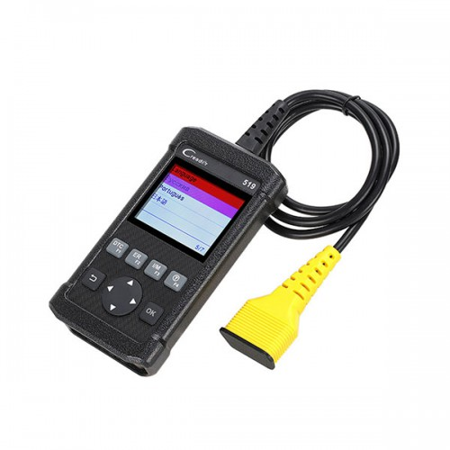 Launch CReader 519 OBD2 Code Reader Read Vehicle Information Diagnostic Tools Free Shipping