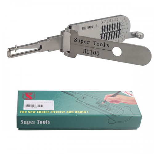 Super auto decoder and pick tools HU100v2 Free Shipping