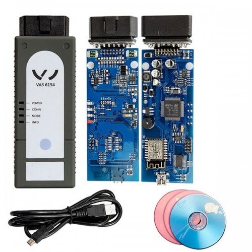 Latest VAS 6154 Diagnostic Tool with ODIS V4.4.1 Software for VW Audi Skoda Upgrade Version of VAS 5054A Shipping from UK
