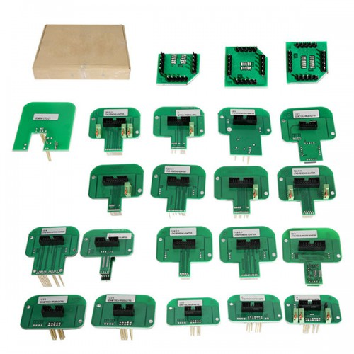 Red PCB! V5.017 KESS Plus V7.020 KTAG Plus BDM Probe Adapters Full Set Free Shipping from UK