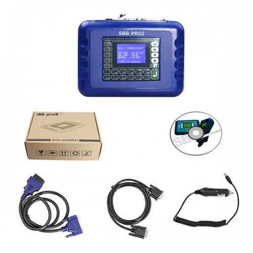 V48.88 Sbb Pro2 Key Programmer Support New Cars to 2019 (Replace SBB V46.02) Shipping from UK