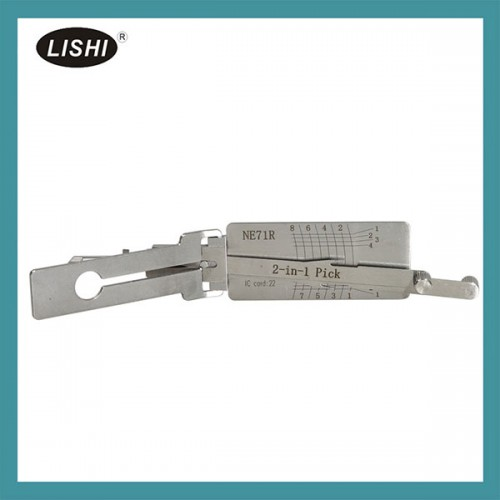 LISHI NE71R 2-in-1 Auto Lock and Decoder for Honda Louvre