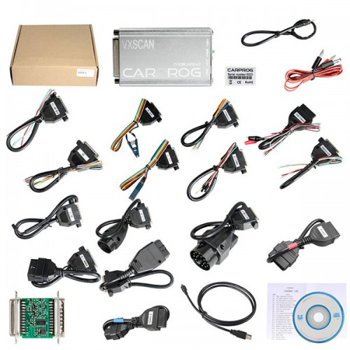 Latest Version V10.93 CARPROG FULL V8.21 Firmware Perfect Online Version with All 21 Adapters Including Much More Authorization