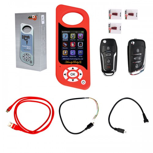 <b>(Shipping from UK)</b> JMD Handy Baby 2 II Hand-held Key Programmer Car Key Copy Tool for 4D/46/48/G Chips