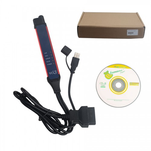 ( Special Price ) Latest Version V2.38 Scania VCI-3 VCI3 Scanner Truck Diagnostic Tool for Scania Support WIFI