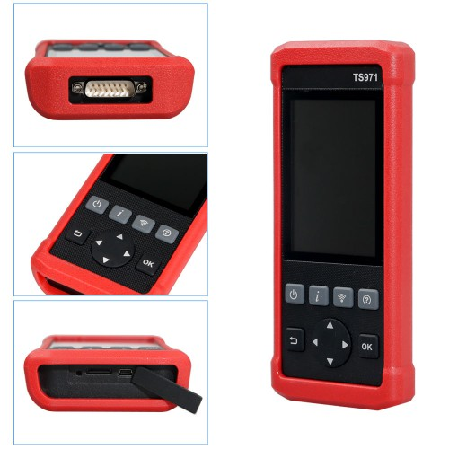 LAUNCH TS971 TPMS Bluetooth Activation Tool Wireless Car Tire Pressure Sensor Monitoring 433Mhz / 315Mhz