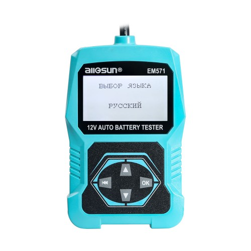 ALL-SUN EM571 12V Automotive Vehicle Car Battery Tester 3 in 1 Multifunction Check Meter Digital Analyzer Diagnostic