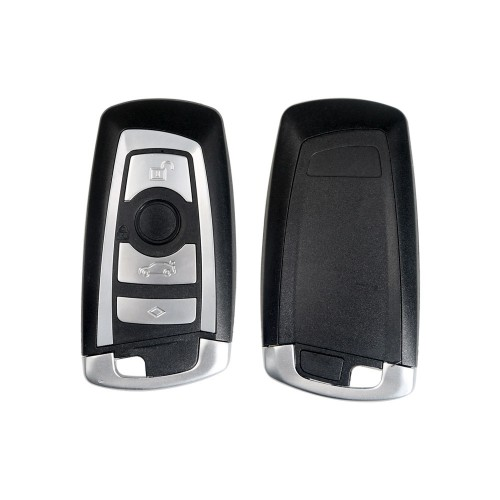 4 Buttons Replacement Smart Remote Key Shell For BMW F CAS4 5 Series 7 Series Smart Key Case Cover