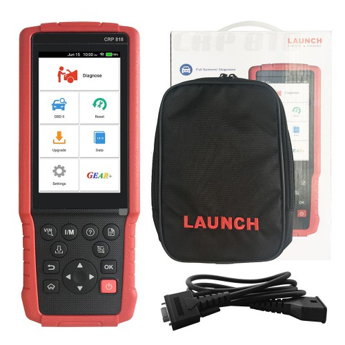 Launch CRP818 Full-System OBD2 Diagnostic Tool for European Cars