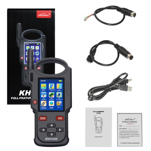<b>(11.11 Super Sale)</b> Lonsdor KH100 Hand-Held Hand Held Remote/ Smart Key Programmer