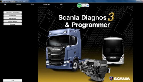 Scania SDP3 V2.39.1 Diagnosis & Programmer + Activation without Dongle