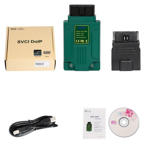 (6% Off €459) STC SVCI DOIP SDD Pathfinder JLR DoiP VCI Diagnostic Tool for Jaguar Land Rover 2005 - 2019 Online Programming
