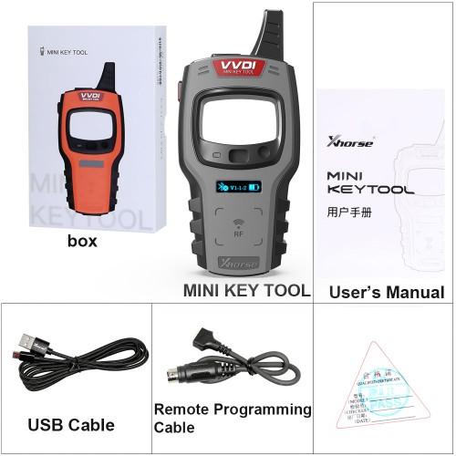 <b>(6% OFF €113)</b> Xhorse VVDI Mini Key Tool Remote Key Programmer Global Version Free Get 10 pcs Xhorse VVDI Super Chip