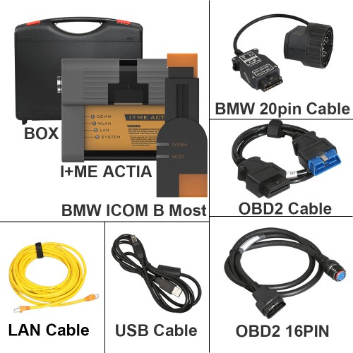 Perfect Version ICOM A2 B C For BMW Without Software