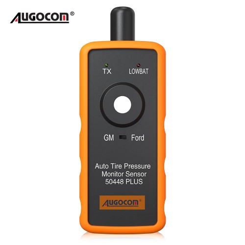 AUGOCOM Auto Tire Pressure Monitor Sensor 50448 Plus 2-in-1 TPMS Activation Tool for GM and Ford