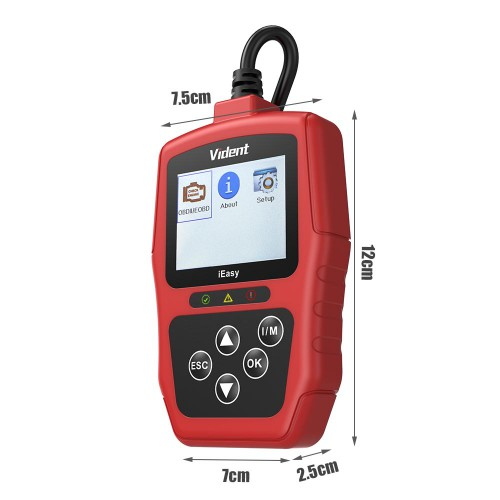VIDENT iEasy300 CAN OBDII/EOBD Code Reader Update Online for Free