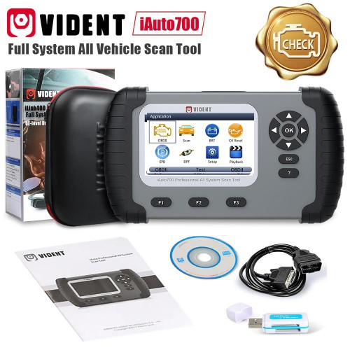 Original VIDENT iAuto700 Professional All System All Make Scan Tool