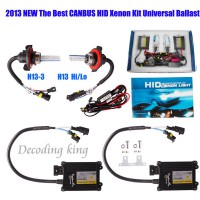 55W CANBUS Bi-Xenon HID SLIM Kit AC Hi/Lo Works With All Cars