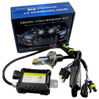35W 12V Motorcycle Bike HID Hi/Low Beam Bi-xenon Kit+Slim Ballast H4 HB2 9003