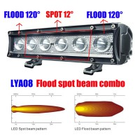 2013 30W 120 degree Flood 8 degree COMBO CREE Led bar light WORK light off road light 4wd boat white