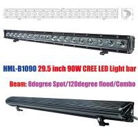 2013 90W 29.5 inch CREE Led light bar FLOOD light SPOT light WORK light off road light 4wd boat white