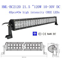 2013 120W 21.5 inch CREE Led light bar FLOOD light SPOT light WORK light off road light 4wd boat white