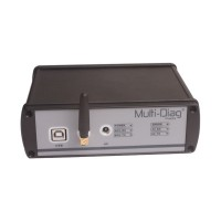 WAS Multi-Di@g Truck Heavy Duty Diagnostic Tool Multi-Language Bluetooth