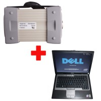 Mb Star C3 with seven cable with HDD plus D630 Laptop package offer