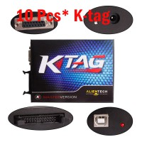 10 Pcs KTAG K-TAG ECU Programming Tool ECU Prog Tool Master Version