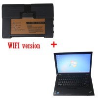 WIFI ICOM For BMW A2 B C with Expert Mode Software HDD Plus Lenovo T410 Laptop