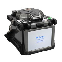"5.6"" LCD RY-F600 Fusion Splicer w/Optical Fiber Cleaver Automatic Focus Function"
