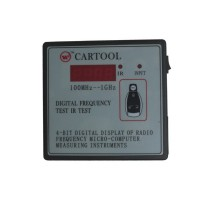 Car IR infrared Remote Key Frequency Tester (frequency range 100-1000MHZ)