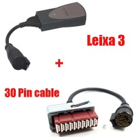 Lexia-3 Diagnostic for Citroen/Peugeot Plus Lexia-3 30 pin cable (round interface)