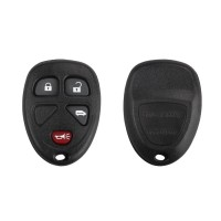 Remote Shell 4 Button for Buick 5pcs/lot