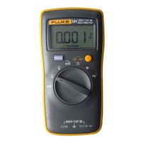 Original FLUKE 101 Palm-Sized Digital Multimeter Meter Smaller than Fluke 17B No Amp