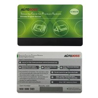 Autoboss V30/V30 Elite Security Card Global Version