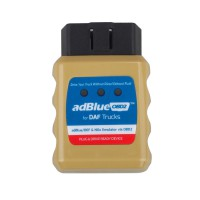 Ad-blueOBD2 Emulator for FORD/DAF/IVECO/MAN/SCANIA/Volvo/Renault/Benz Trucks Plug and Drive Ready Device by OBD2
