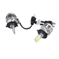 Universal Car Truck H4 3600LM 70W LED HeadLight H/L Beam Lamp 6000K 7500K integrated