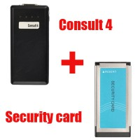 Consult 4 for NISSAN Plus Security Card for Immobiliser