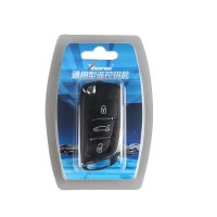 XHORSE VVDI2 Volkswagen DS Type Universal Remote Key 3 Buttons (Independent packing) (X002)