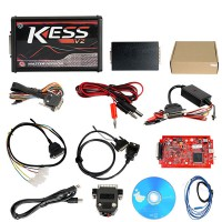Red PCB! Newest V5.017 KESS V2.47 Kess V2 ECU Programmer Online Version Support 140 Protocol No Token Limitation Shipping from UK