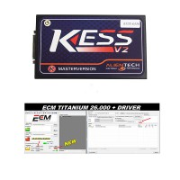 V2.37 KESS V2 with V4.036 firmware Manager Plus ECM TITANIUM 1.61 With 18259 Driver DHL free shipping