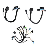 BENZ EIS/ESL cable+7G+ISM + dashboard connector MOE001 Full Set BENZ Cable Work with Xhorse VVDI MB BGA Tool