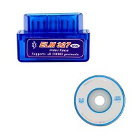 MINI ELM327 Bluetooth OBD2 V1.5 v2.1