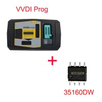 Original Latest Version V4.8.6 Xhorse VVDI PROG Super Programmer with Xhorse 35160DW Chip Free Shipping