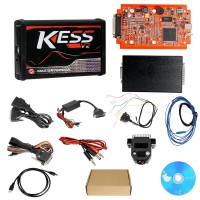 <b>(7% OFF €64)</b> Newest V5.017 KESS V2.53 Kess V2 ECU Programmer Online Version Support 140 Protocol No Token Limitation