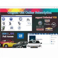 Original GM Online Subsription for One Year Work with GM MDI, GM Tech2, VXDIAG VCX Nano GM, Ford VCMII