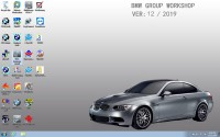 V2019.12 V12/2019 Latest BMW ICOM Software 500G HDD ISTA 4.20.31 ISTA-P 3.67.0.000 with Engineers Programming