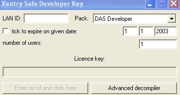 DAS Developer keygen for Mercedes Benz software download
